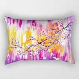 Sakura in the Spring Rectangular Pillow