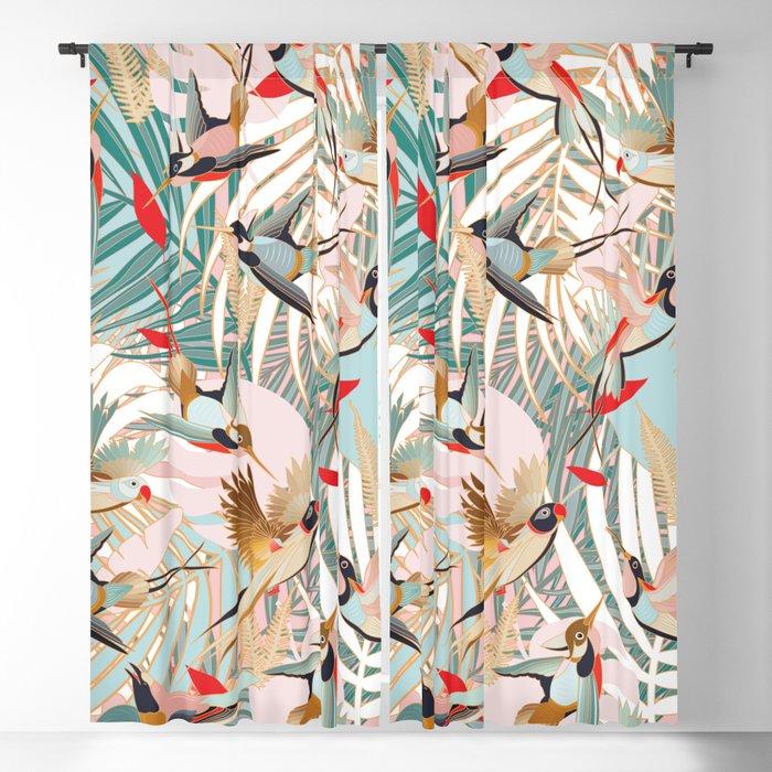 Tropical Mood I. Blackout Curtain