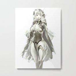Fantasy Art Elf Woman Mirage Cool And Unique Metal Print