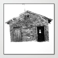 House on a Hill Canvas Print