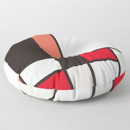 De Stijl Floor Pillow