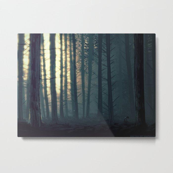 Waldeinsamkeit Metal Print