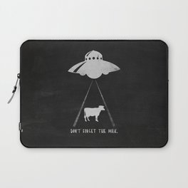 Don't forget the milk. Laptop Sleeve