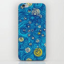 Swiggly Swirls iPhone Skin