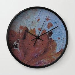 Grunge wall texture 4 Wall Clock