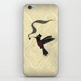 Steampunk Hummingbird iPhone Skin