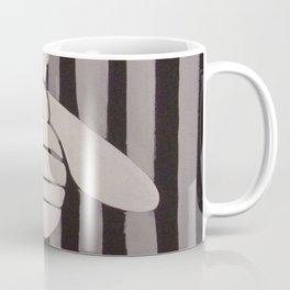 Halloween Bee with Stripes Coffee Mug