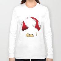 super mario Long Sleeve T-shirts featuring Super Mario by SEANLAR94