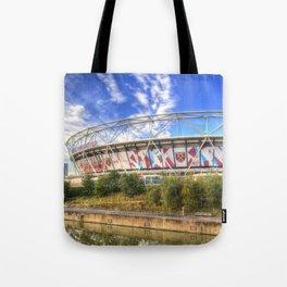 West Ham Olympic Stadium London Tote Bag
