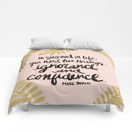 Ignorance & Confidence #2 Comforters