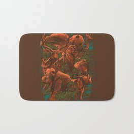 Kingdom Animalia Bath Mat