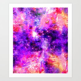 We're Nothing Yet Everything In This Universe Art Print