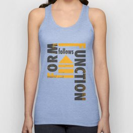 Forming the Quote Unisex Tank Top
