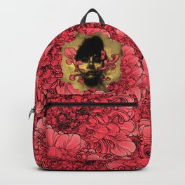 I Am Serius With Flowers Backpack