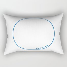 Blank Space Rectangular Pillow