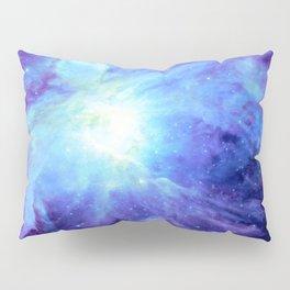 NEBula Purple Periwinkle Blue Pillow Sham