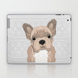 Beige Frenchie Puppy 001 Laptop & iPad Skin