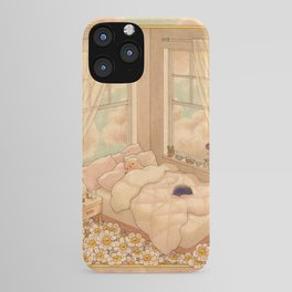 Bed in the Clouds iPhone Case