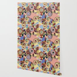 Swirl Deconstruction Wallpaper