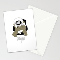 MORNING COFFEE IN THE OFFICE Stationery Cards