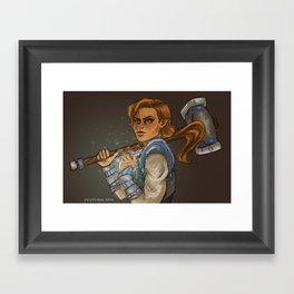 Lady Kima Framed Art Print