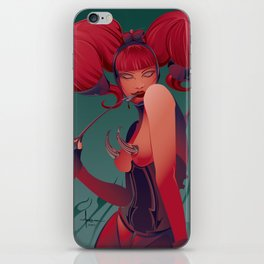 DECADENTLY HORNY iPhone Skin
