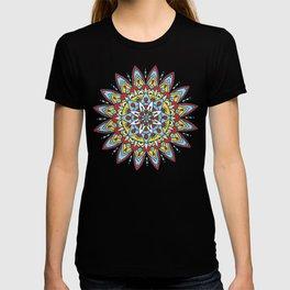 Sun and sea mandala T-shirt