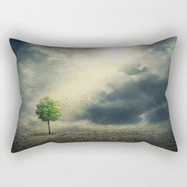 Drought on Earth Rectangular Pillow