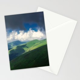 The old mountain Stationery Cards