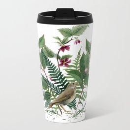 Woodland Birdsong Metal Travel Mug