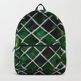 Emerald Pattern Backpack