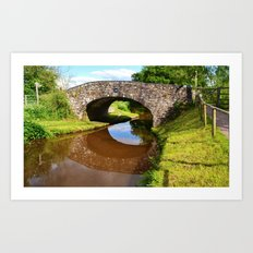 Bridge 162, Monmouthshire & Brecon Canal Art Print