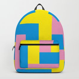 An easy one. Arrow heads...Graphical arrow heads in children colors. Backpack