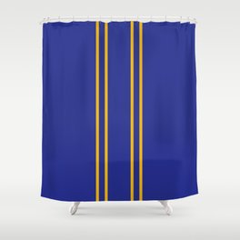 Chun Li Collant Stripes Shower Curtain