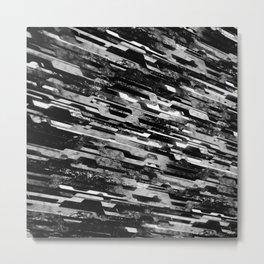 paradigm shift (monochrome series) Metal Print