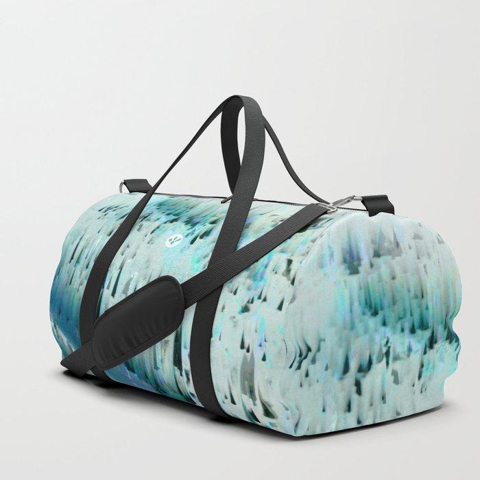 White Landscape / Snow Duffle Bag