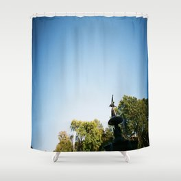 Up Above Shower Curtain