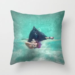 Sinking Feeling Throw Pillow