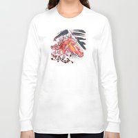 carousel Long Sleeve T-shirts featuring Carousel by bellevuetriangle