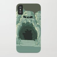 castle iPhone & iPod Cases featuring castle by neicosta