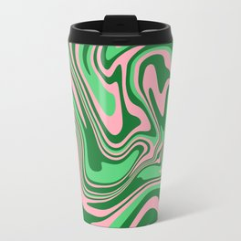 Abstract Fluid 21 Travel Mug