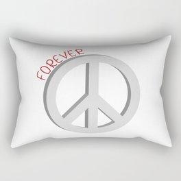 Forever peace symbol Rectangular Pillow