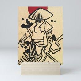 Ronin (Warrior Monk) Mini Art Print