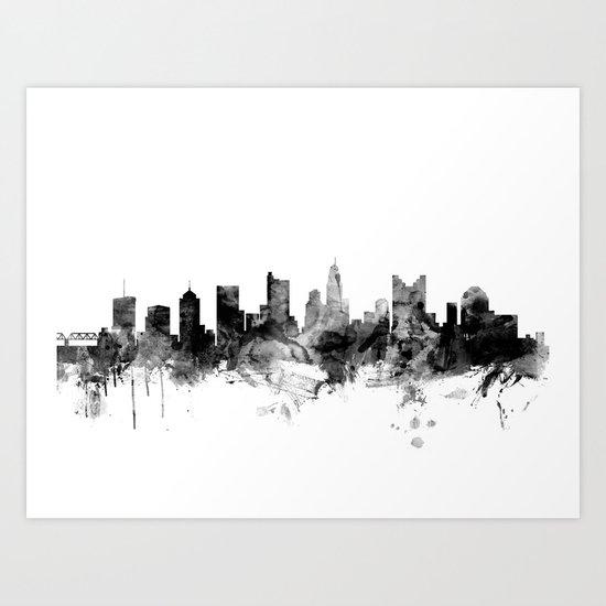 Columbus Ohio Skyline by artpause