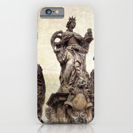 Statue on Charles Bridge in Prague iPhone & iPod Case