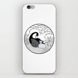 Black Swan and Moonlark iPhone Skin