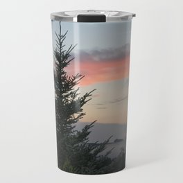 Mountain Top Tree Travel Mug