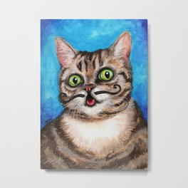 Lil Bub - Cats with Moustaches Metal Print