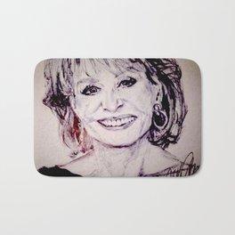 Barbara Walters Bath Mat