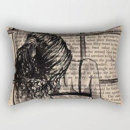 Rain time Rectangular Pillow